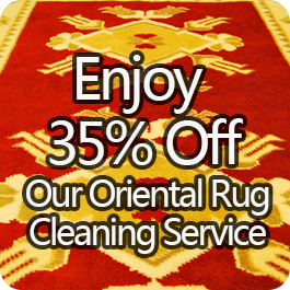 Enjoy 35% Off Our Oriental Rug Cleaning Service