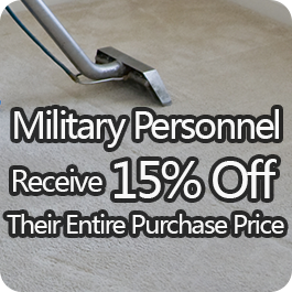 Military Personnel Receive 15% Off Their Entire Purchase Price